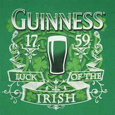 A list of a few of the top Irish beers with some background information about each. Irish Beer, Irish Whiskey, Irish Dinner, Irish Drinks, Beer Poster, Green Beer, Irish Pride, Irish Girls, Guinness World