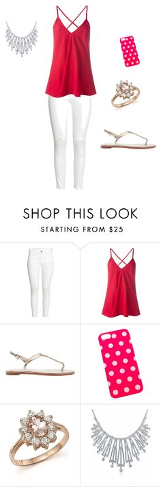 """""""Untitled #19"""" by caitlinpiper-1 ❤ liked on Polyvore featuring H&M, Dondup, Bloomingdale's and Bling Jewelry"""