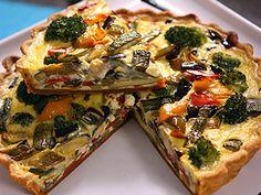 Receta: Santiago Giorgini/ Tarta vegetariana | Recetas | Utilisima