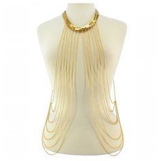 Candied Gold Body Chain