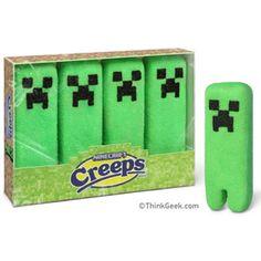 Minecraft Creeper Peeps!