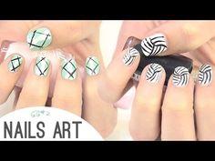 Diseños para uñas. Easy nail art