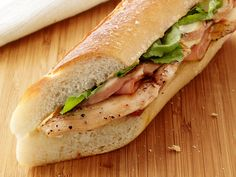 Chicken Cordon Bleu Sandwiches from FoodNetwork.com