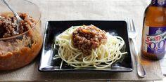 receta de salsa bolognesa o boloñesa