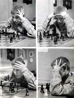 when I was eleven, I just got good ― bobby fischer | 1956