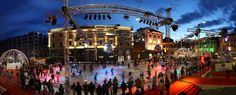 A Christmas atmosphere in a mediterranean setting! You just can't miss Locarno on Ice! 24th November 2016 - 6th January 2017