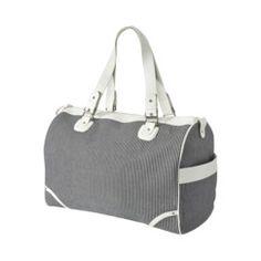 Bueno Weekender Bag - Grey/White