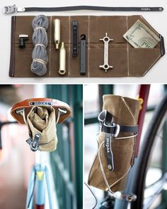 Mopha Tool Roll ($44): This little roll keeps all of your tools organized and on your bike at all times.