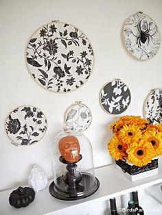 Embroidery Hoop Backdrop