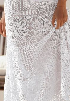 I was asked to make a detailed pattern of another Boston Proper maxi crochet skirt:    The original skirt is already sold out! But if you like to crochet, it's not a problem to make your own creati...