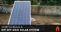 9 Steps to Build a DIY Off-Grid Solar PV System