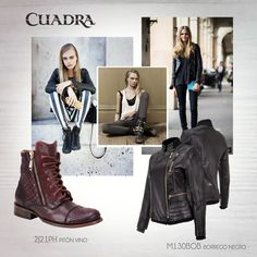 ¿Quieres un look como el de Cara Delevingne? ¡Aquí te decimos cómo! #blog #cuadra #bloggerstyle #style #rock #glam