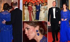 Kate Middleton and Prince William arrive for a glittering Bollywood gala with a feast of Indian entertainment | Daily Mail Online