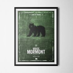 House Mormont - Here We Stand - Game Of Thrones