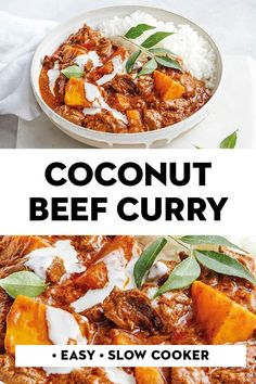 Let the crockpot do all the work with this slow-cooker Indian beef and pumpkin curry. Serve with rice for a super-easy dinner. Crockpot Recipes, Cooking Recipes, Healthy Recipes, Dinner Crockpot, Cooking Tips, Jar Recipes, Rice Recipes, Recipies, Indian Food Recipes