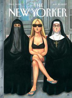 New Yorker cover illustration
