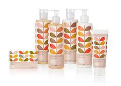 Bold Floral Branding - Orla Kiely Toiletries Packaging Bears Her Beautiful Geranium Motif (GALLERY)