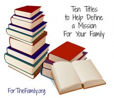 Great list of books to help us define what REALLY matters in our families!