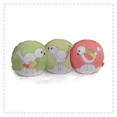 Kit  Almofadas - Three Little Birds