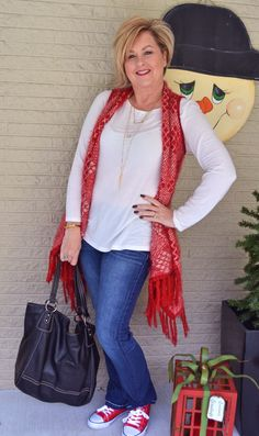 Fashion over 40 for the everyday woman. Time to go shopping @50isnotold.com