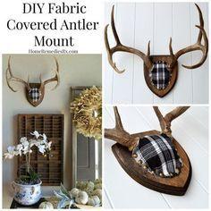 Deer Antler Crafts, Antler Art, Antler Wreath, Homemade Fabric Softener, Deer Decor, Antler Decorations, Deer Mount Decor, Antler Wall Decor, Taxidermy Decor