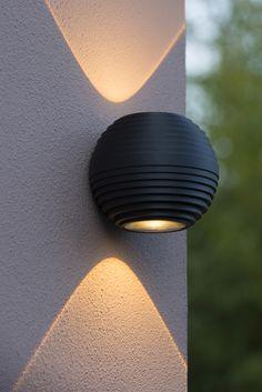 Outdoor Wall Lighting, Outdoor Walls, Led Lamp, Aluminium, Wall Lights, Modern, Architecture, Home Decor, Light Fixtures