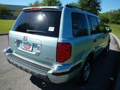 Cars for Sale: Used 2003 Honda Pilot in 4WD EX-L, Orlando FL: 32837 Details - Sport Utility - Autotrader