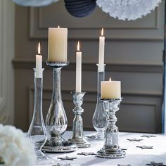 Candles from the white company All Things Christmas, White Christmas, Christmas Ideas, Christmas Time, Christmas Crafts, Rustic Candle Holders, Luxury Towels, Glass Candlesticks, Home Comforts