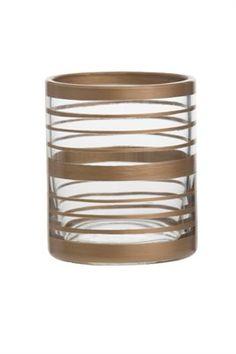 Votive holder-Copper Elegance 2  Votiveholder Copper Votivehållare i glas och koppar  Mått: ca höjd 80, b 70, d 70mm