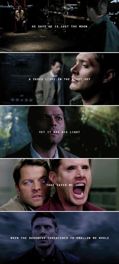 you have more light than you realize, darling // k.s. #spn #destiel