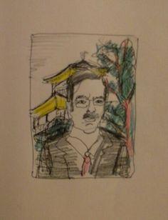 Armand's Rancho Del Cielo: Rough Sketch