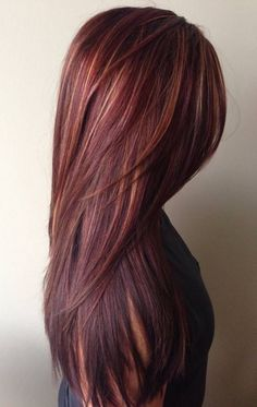 Her Hints of Red & Highlights