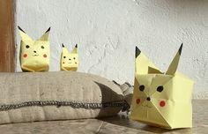 Pokémon origami, Origami Pokémon