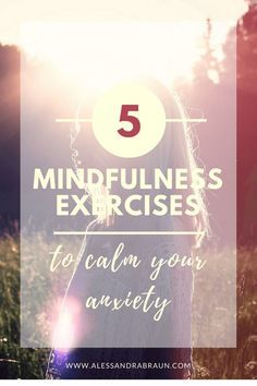 Stress management worksheets & infographic 5 Mindfulness Exercises to Calm your Anxiety - Alessandra Braun. Mindfulness Techniques, Mindfulness Exercises, Mindfulness Activities, Mindfulness Practice, Mindfulness Meditation, Guided Meditation, Meditation Practices, Test Anxiety, Anxiety Tips