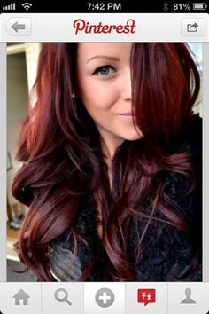 Cherry Coke Hair on Pinterest | Hair Coloring, Hair and Cherry Cola ...
