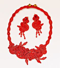 Hungarians' Etsy Team: Bohemian Soutache Jewelry for the Colour Lover