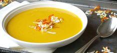 Asian Crunchy Leek and Sweet Potato Soup Sweet Potato Soup, Curry, Veggies, Potatoes, Asian, Ethnic Recipes, Food, Curries, Potato