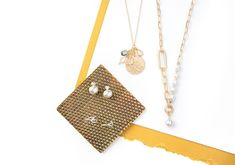 Plunder Design, Simple Jewelry, Vintage Inspired, Jewelry Design, Bling, My Favorite Things, Gold, Jewel