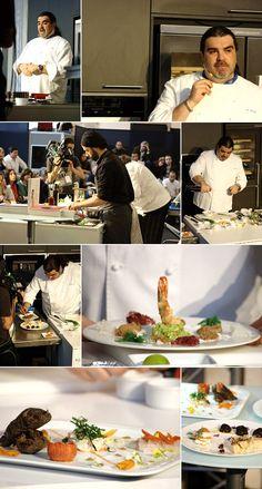 Apresentação do chef Augusto Gemelli do restaurante Gemelli [2012]