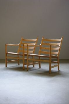 The Modern Warehouse - Furniture - Hans Wegner CH44 Chairs and Stool