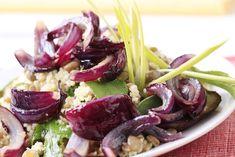 Kuskus s tuňákem a cibulí Potato Salad, Cabbage, Potatoes, Vegetables, Ethnic Recipes, Club, Food, Potato, Essen