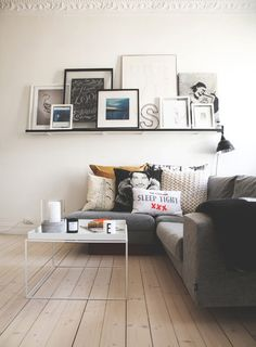 A funky and characterful living space with the Hay Tray Table in white http://www.nest.co.uk/product/hay-tray-table