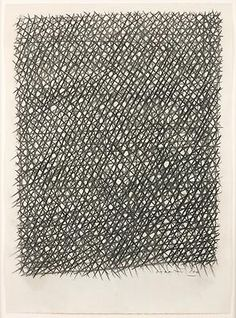 Untitled, 1960  vine charcoal on paper  28 x 20 1/4 in. (71.1 x 51.4 cm)  signed lower right: Dorazio '60