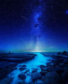 One of the most amazing compositions of a shot encompassing the milky way that I've seen. Photograph by Goff Kitsawad