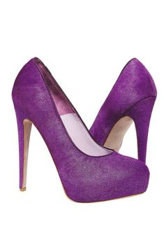 Bergdorf Goodman's Anniversary Collection: Brian Atwood's pony-hair pumps.