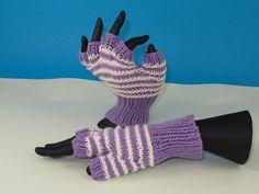 Finger+Knitting+Patterns | Stripe Pattern ... by madmonkeyknits | Knitting Pattern
