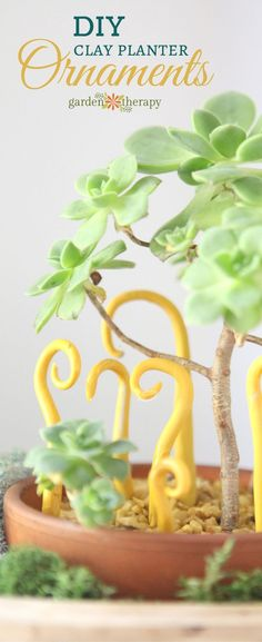Whimsical DIY clay o