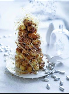 Mini croquembouche #food #cake #wedding