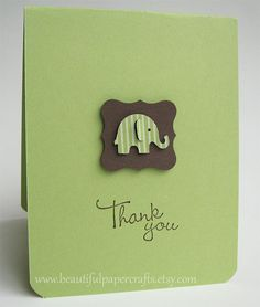 Baby Elephant Baby Shower by BeautifulPaperCrafts