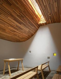 Prayer Chapel in new Talbot Building featured in De Zeen magazine